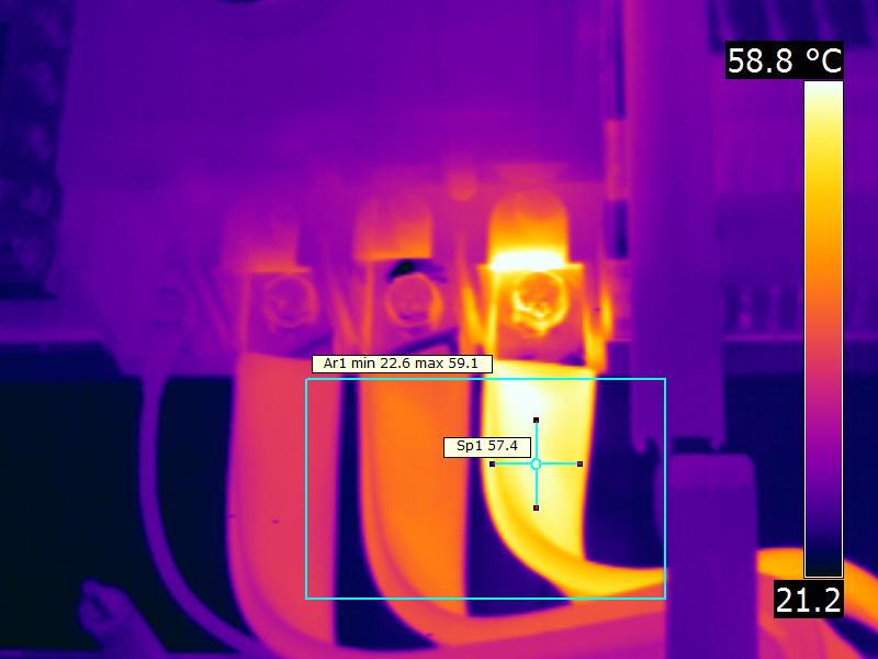 7 - Thermographie barre de distribution